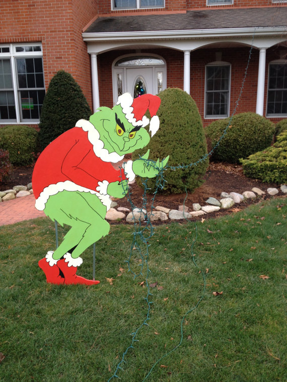 25 Awesome Grinch Christmas Decorations Ideas Decoration