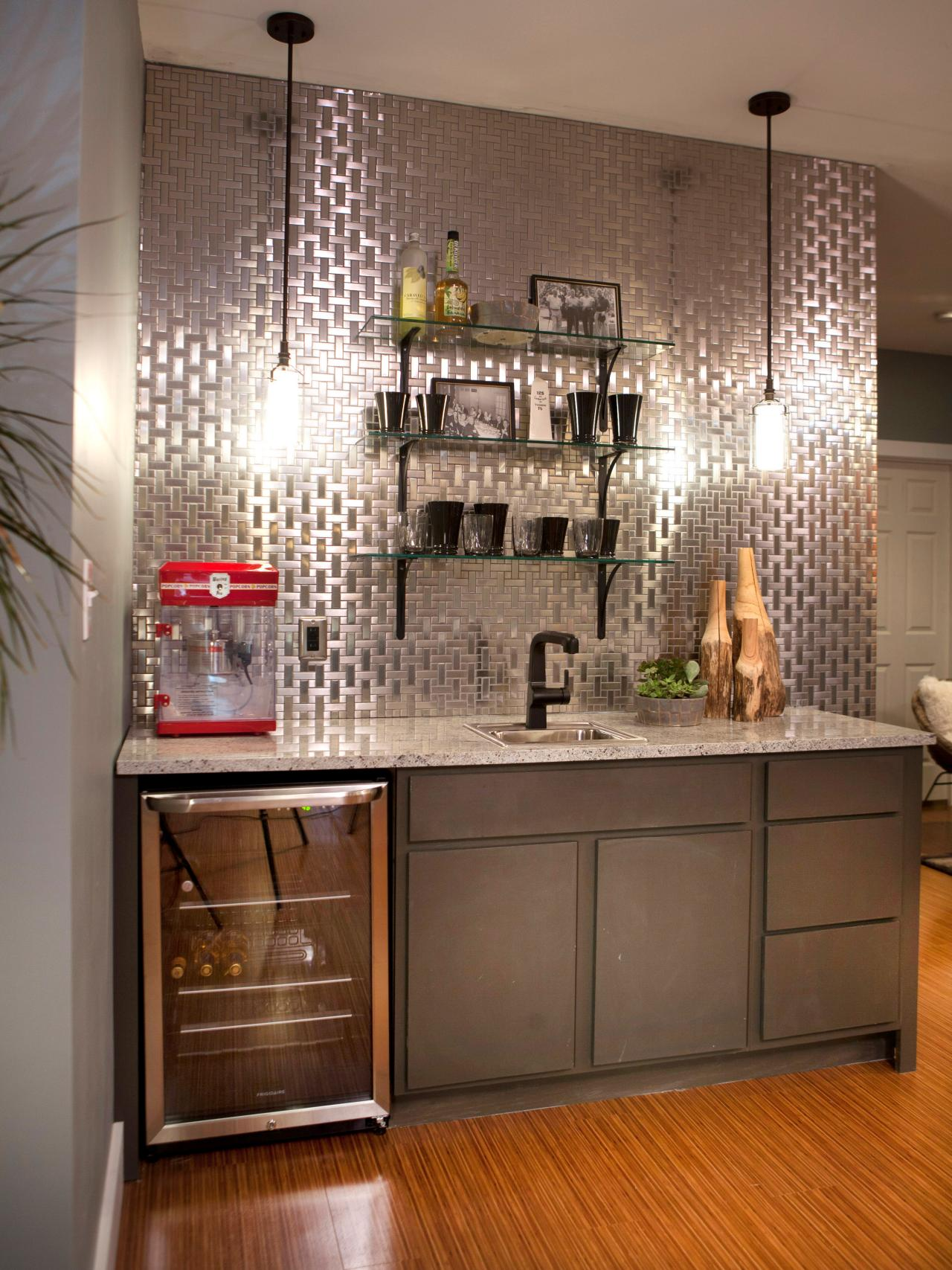 HGTV Home Bar Design Ideas for Basements