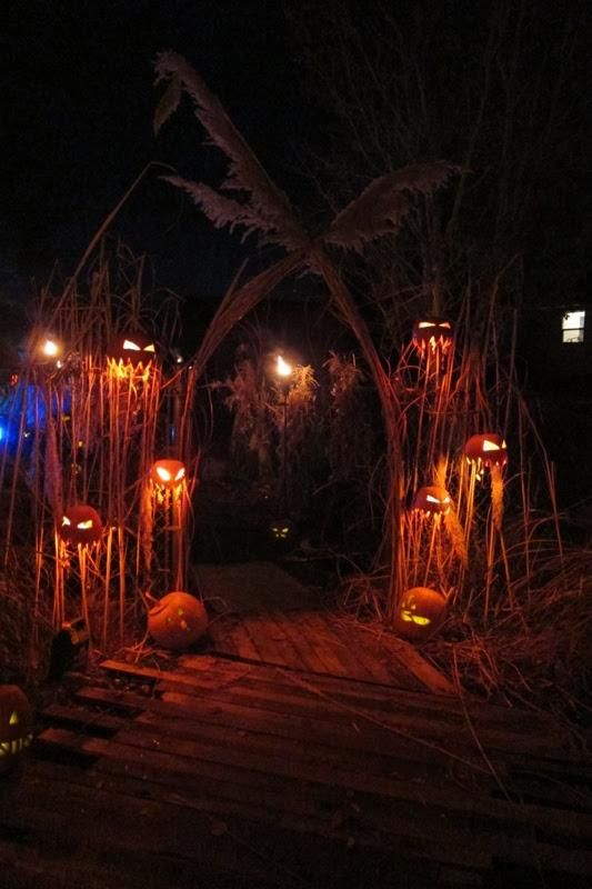 Halloween Entrance Way Decorations