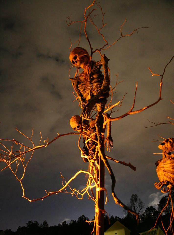 Halloween Haunted Tree Decoration
