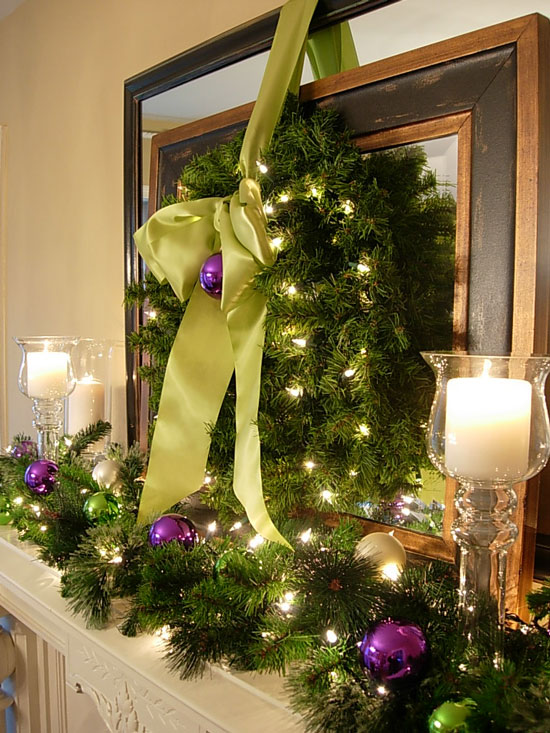 How to Decorate My Mantel for Christmas