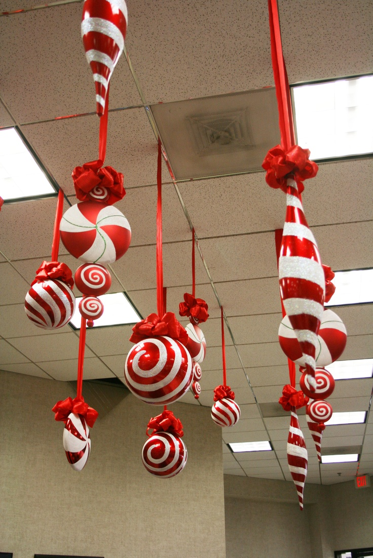 Large Christmas Ornaments to Hang From Ceiling