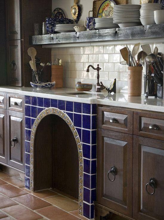 Mediterranean-style Kitchen Design