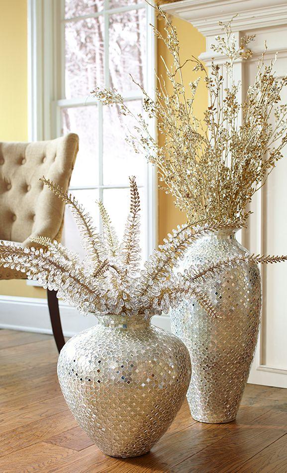 Mosaic Vases and Decor