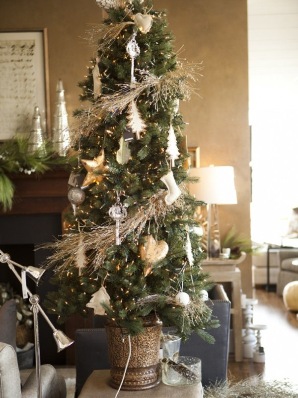 Natural Christmas Tree Indoor Decor