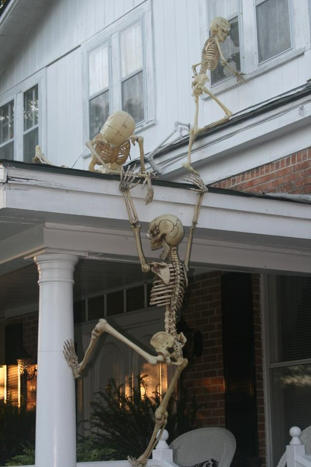 Outdoor Halloween Decoration Skeleton
