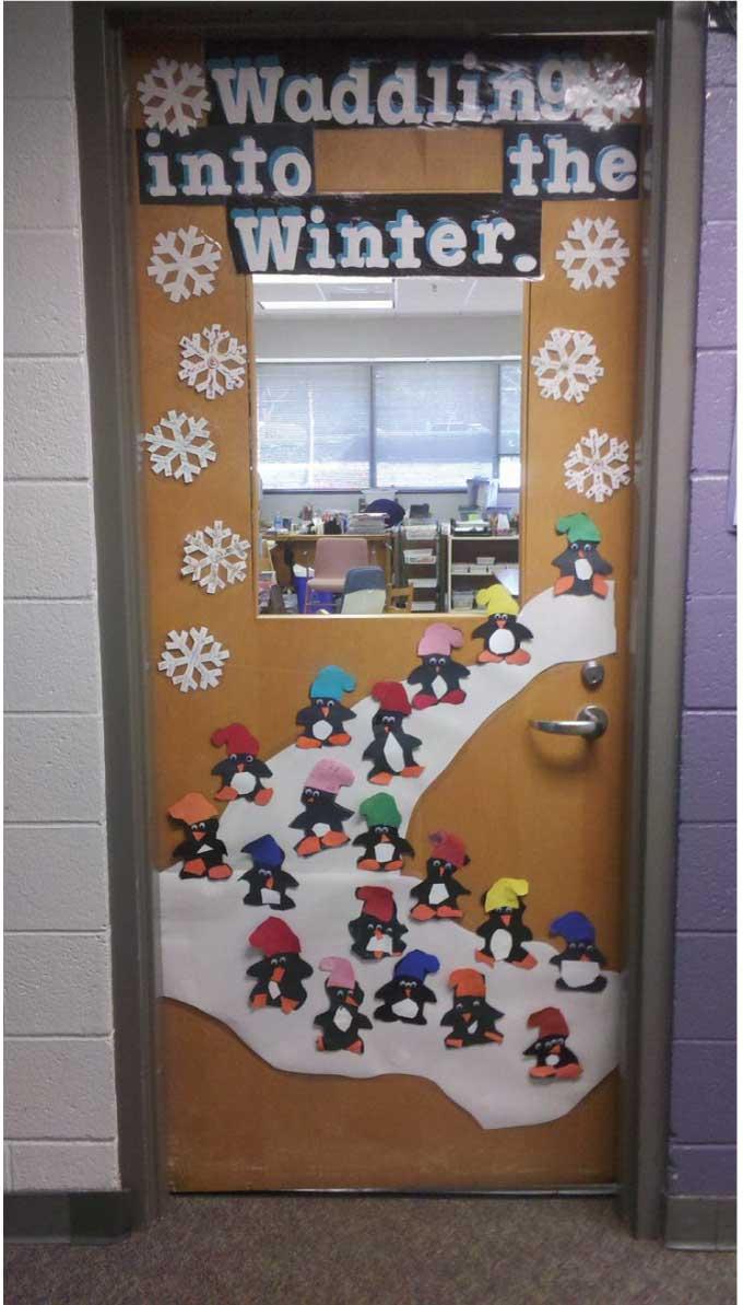 Penguin Classroom Door Decoration