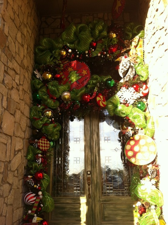Pinterest Christmas Door Decorations
