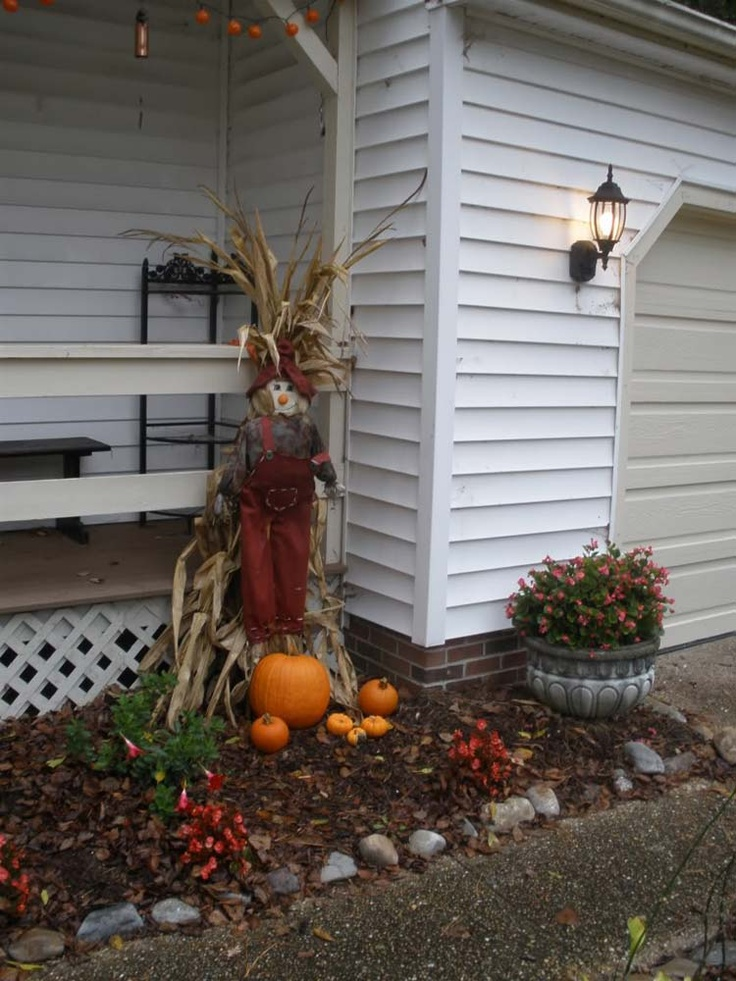 Porch Outdoor Halloween Decorations