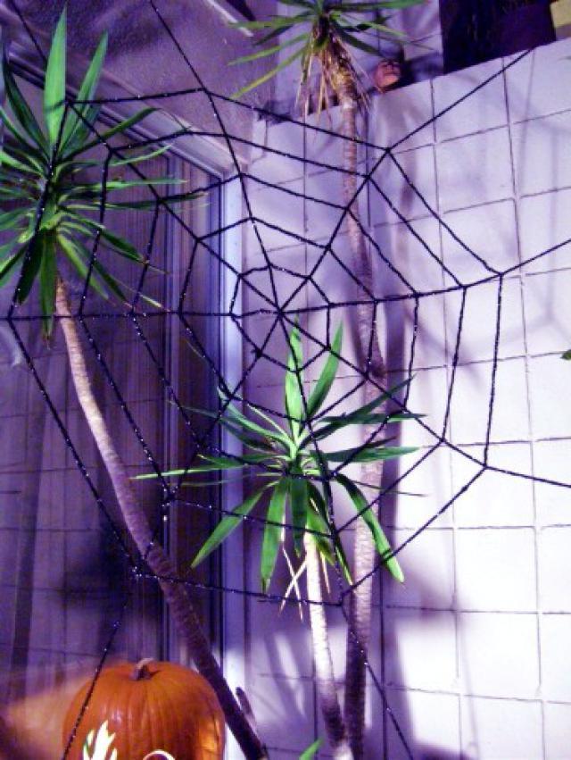 Spider Web Outdoor Decoration