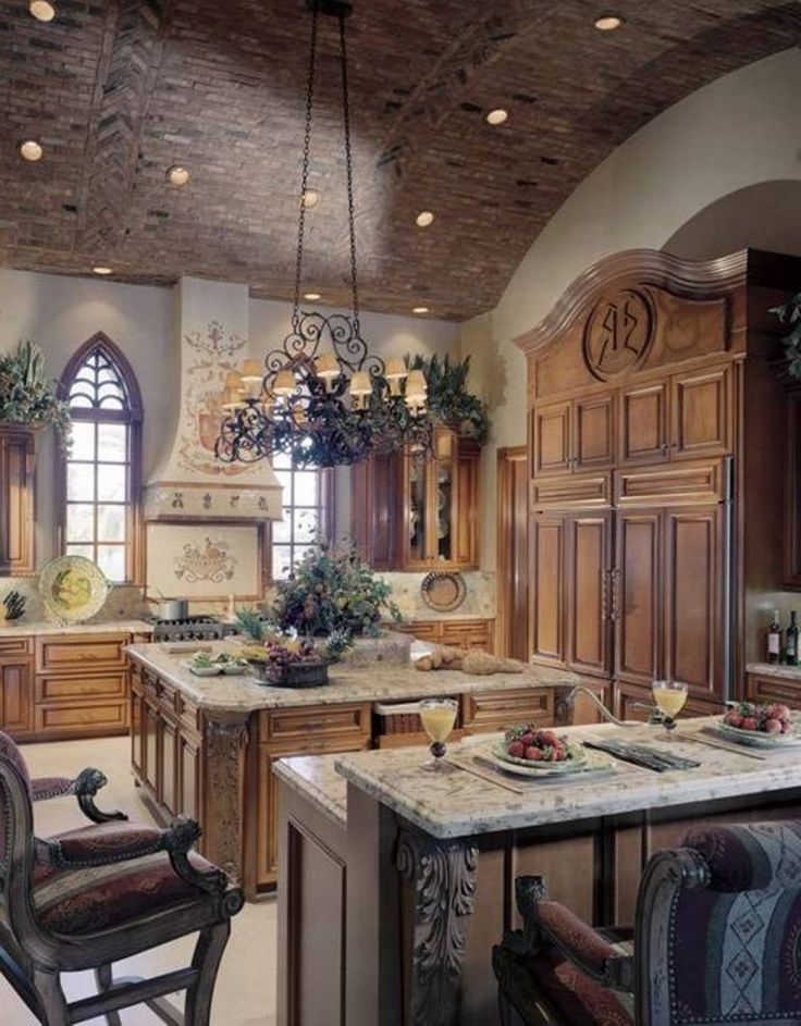 Tuscan Kitchen Design Ideas