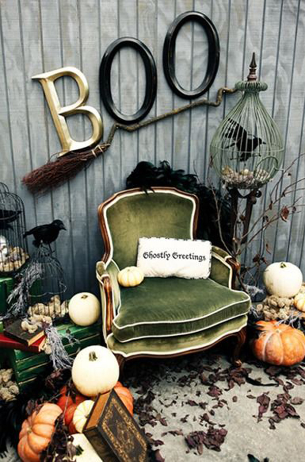 Vintage Halloween Decorations Ideas