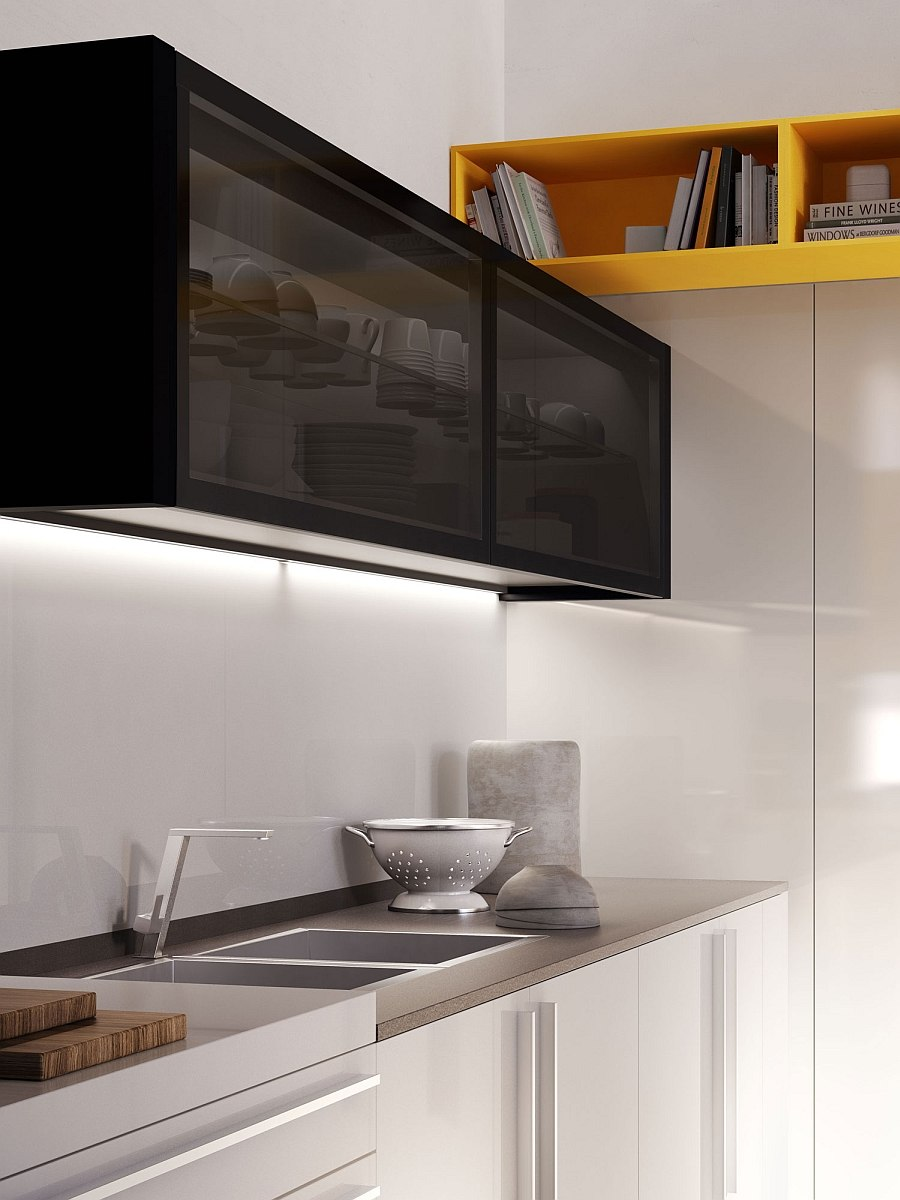 Wall Cabinets with Glass Fronts