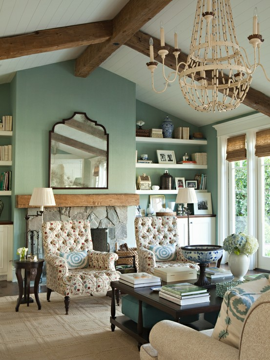 blue-green-living-room-wall-color