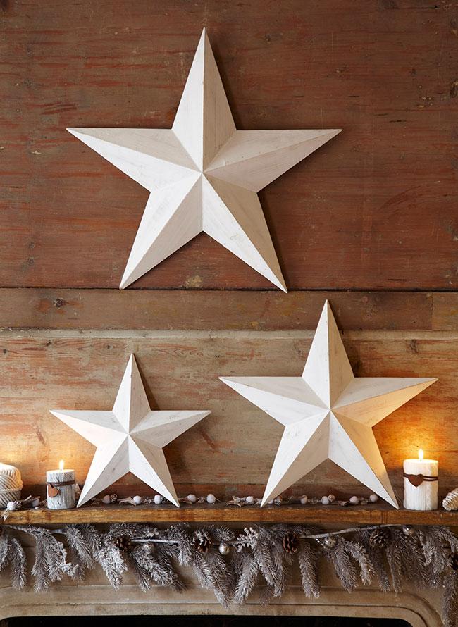 Christmas Barn Star Decoration