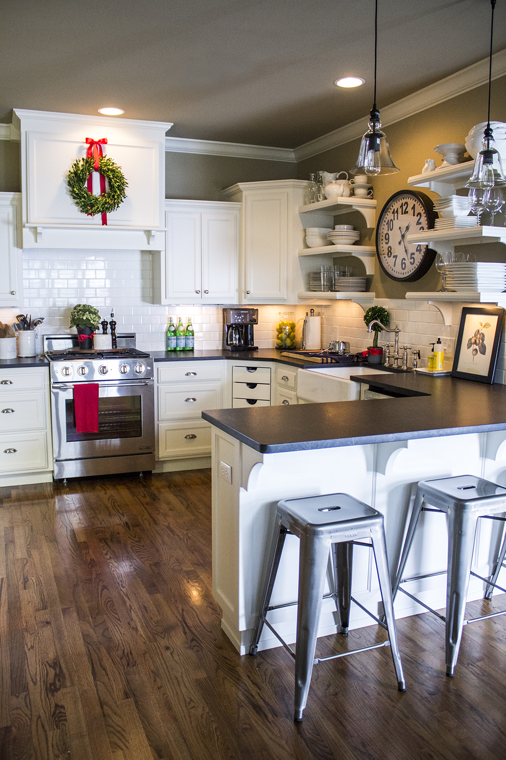 Christmas Decor Pottery Barn Kitchens