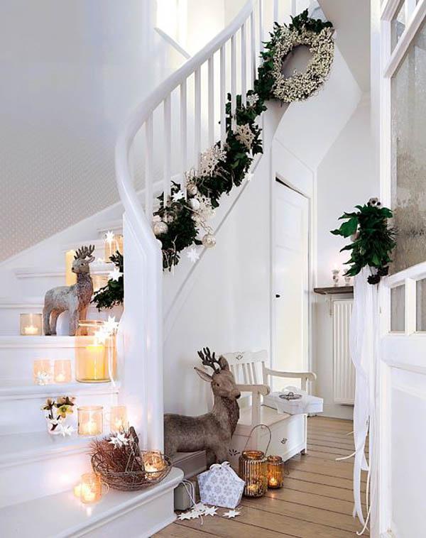 Christmas Stair Decoration