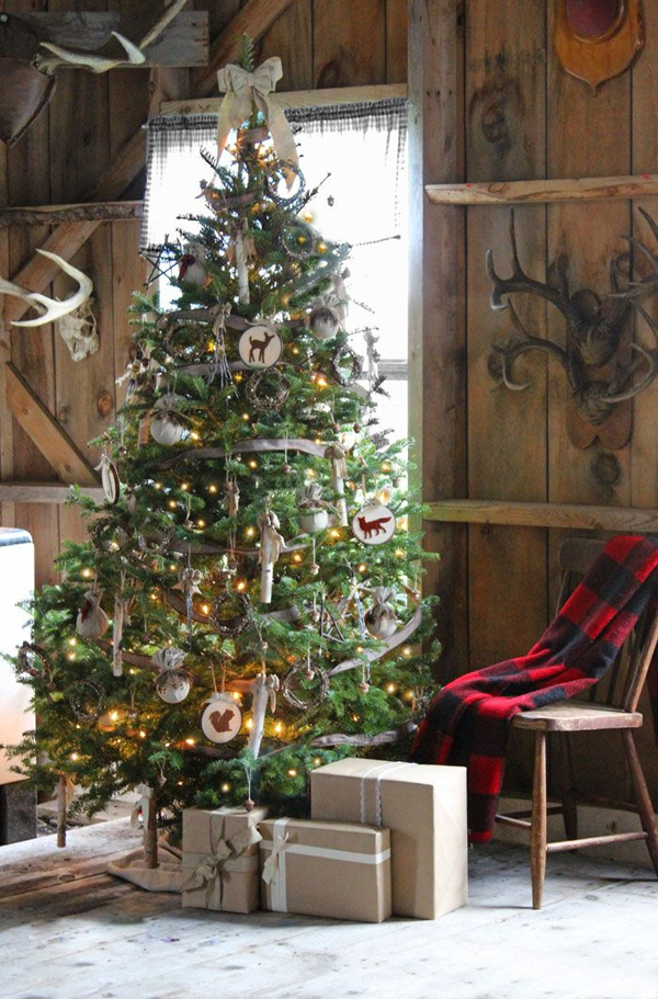 Cool Rustic Christmas Decorating Ideas