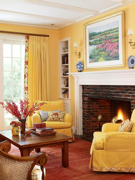 decorating-with-yellow-walls-living-room