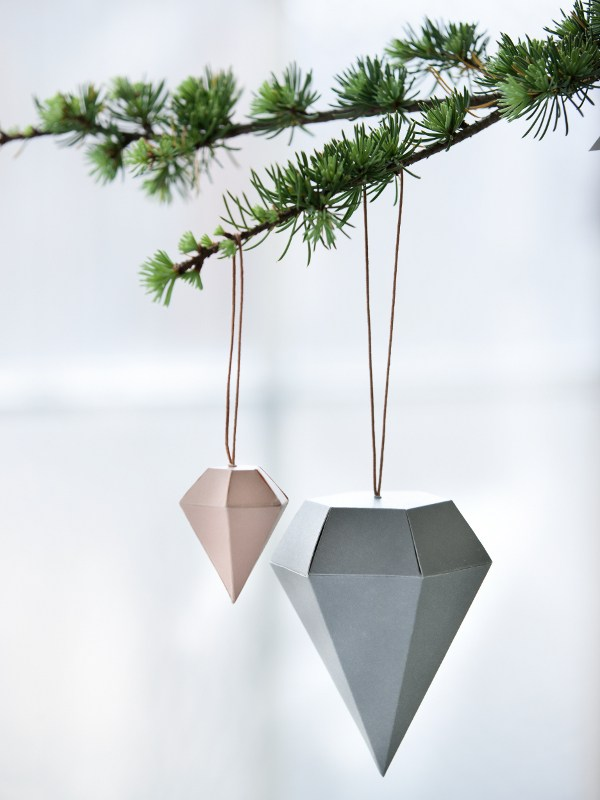 Diamonds Christmas Tree Decoration