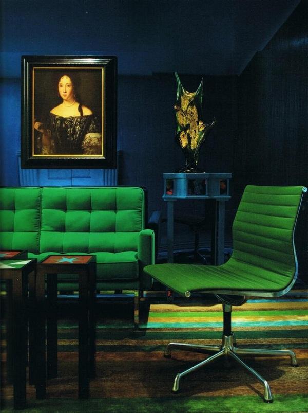 emerald-green-color-furniture