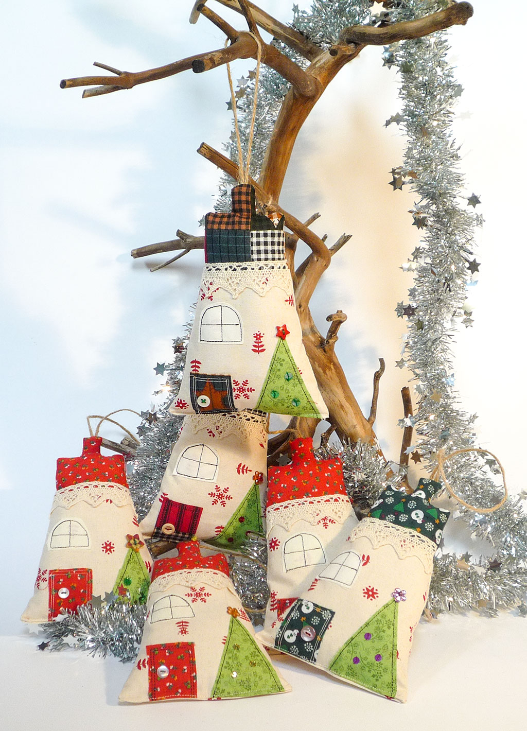 Fabric Christmas Decoration Ideas