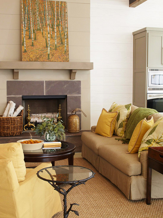 green-and-yellow-living-room-fireplace