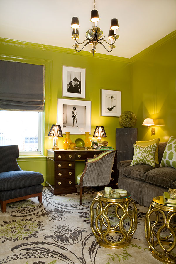 Green Living Room Designs: 28 Yellow Living Room Decorating Ideas