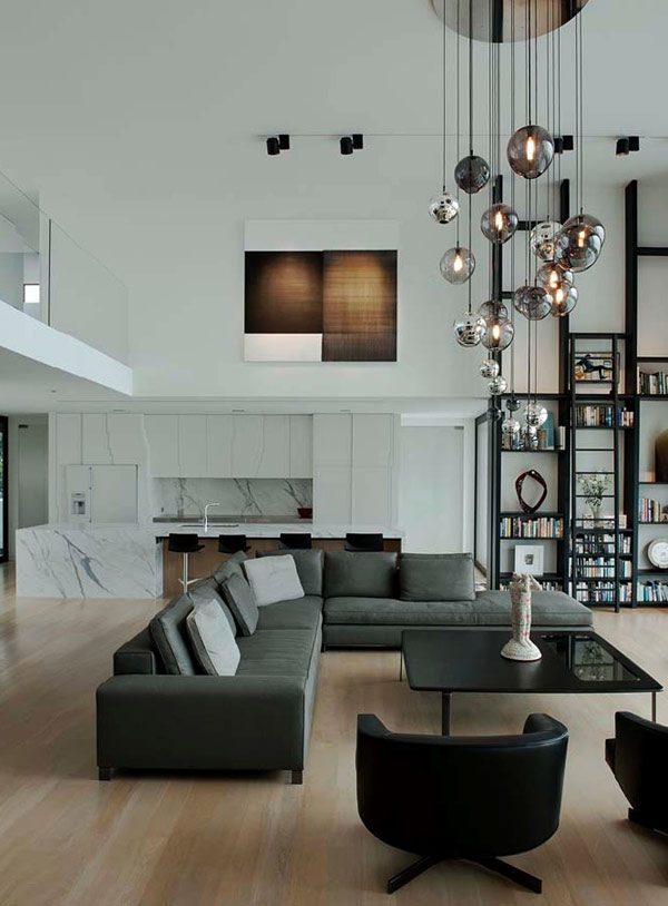 high-ceiling-living-room-colors
