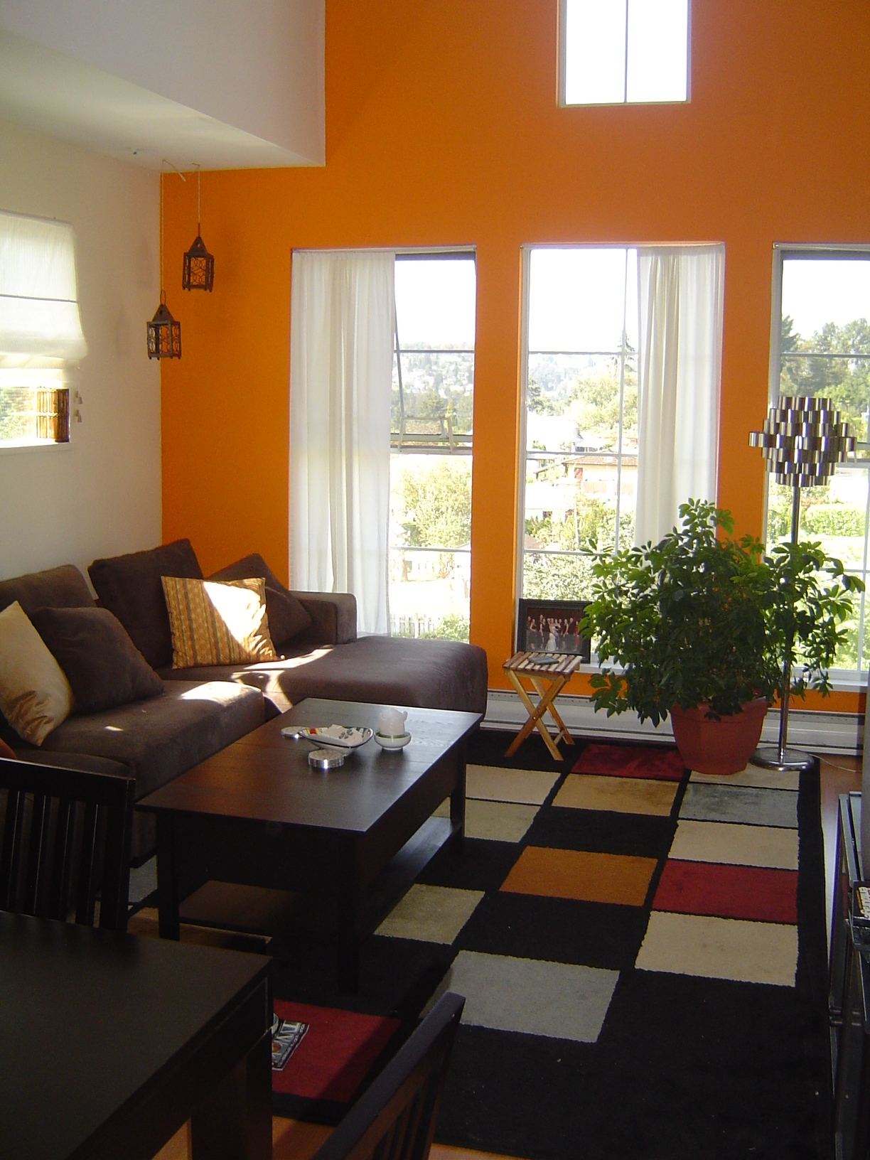 28 stunning orange living room designs ideas decoration love Orange and red living room design