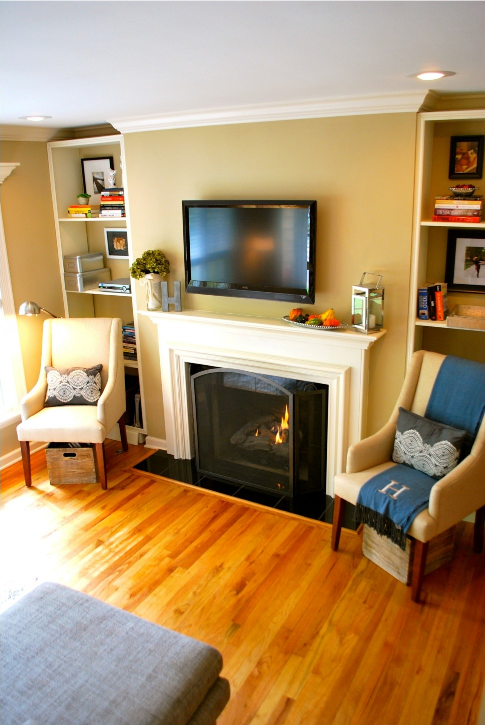 30 living room design ideas with tv set on wall