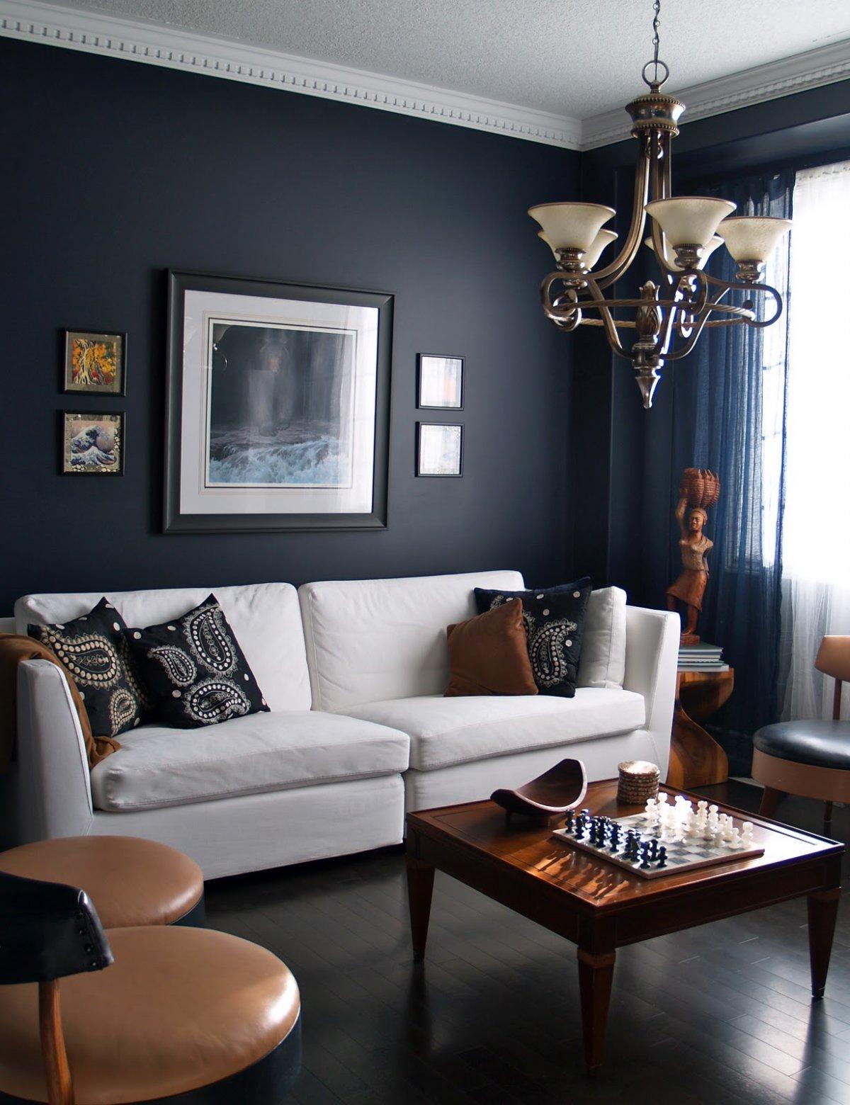 navy-blue-living-room-walls