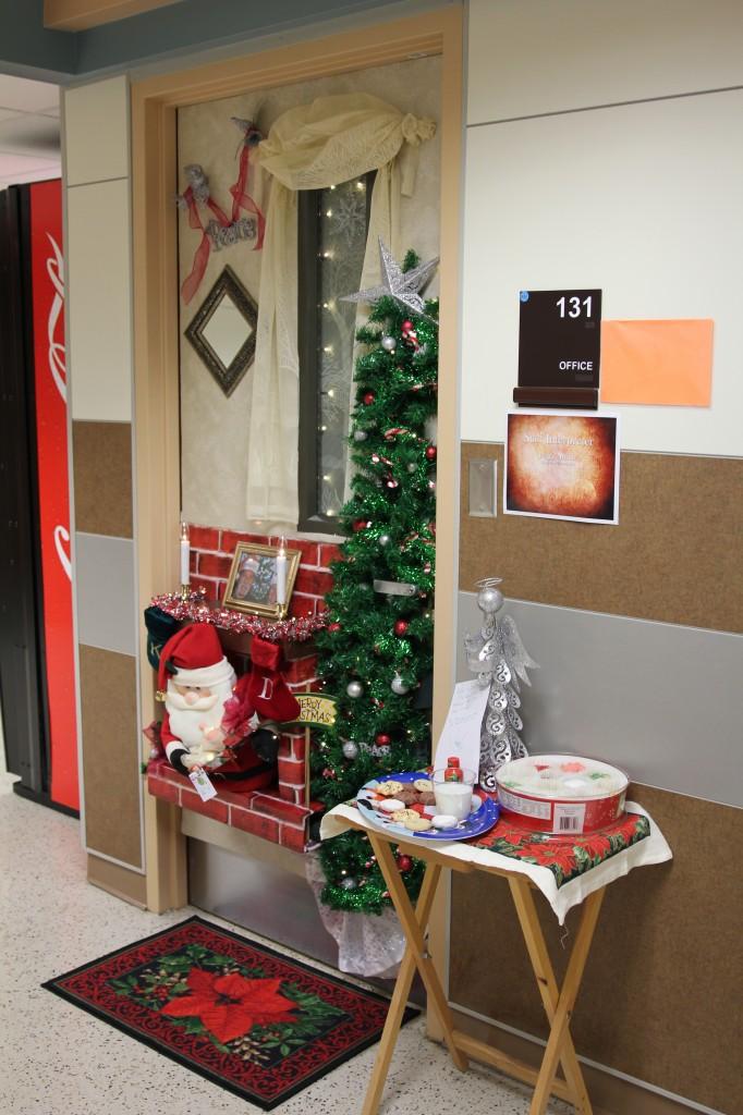 Office Christmas Door Decorating Contest Ideas