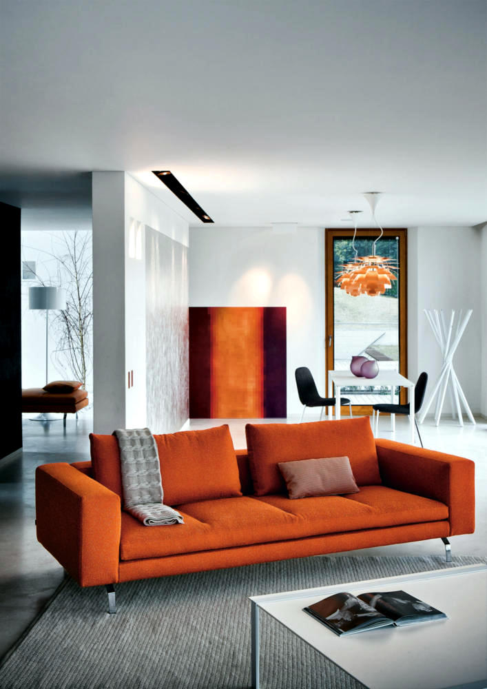 orange-living-room-design