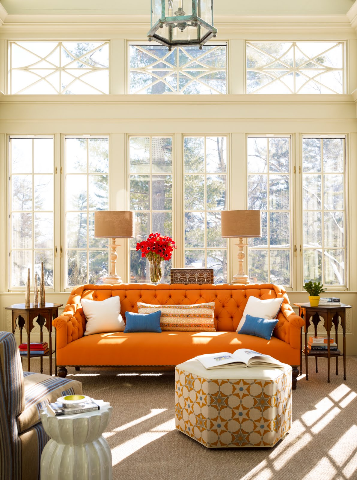 orange-sofa-living-room