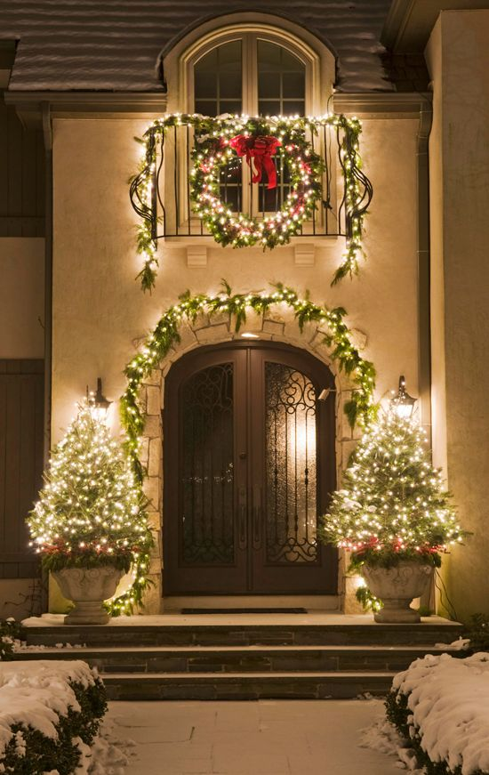 Light Up Outdoor Christmas Decorations.40 Gorgeous Outdoor Christmas Decorations Ideas Decoration