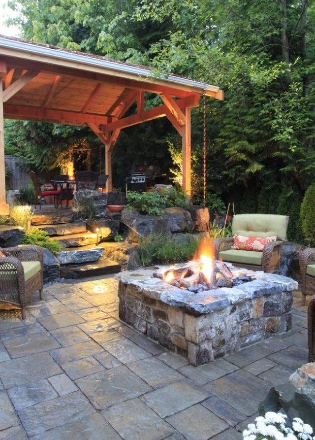 outdoor-fire-pit-patio-design-idea