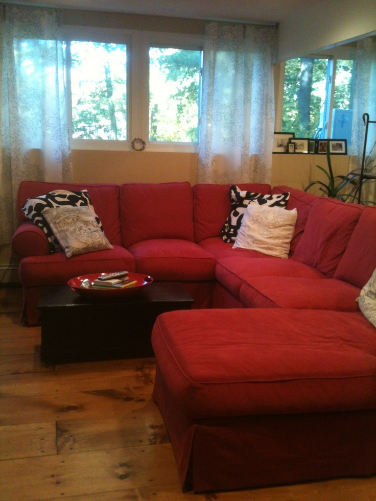 Red Black White Living Room Ideas