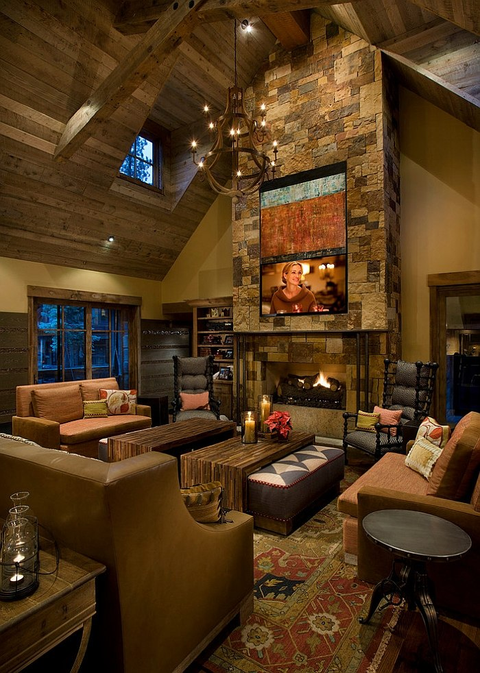 rustic-cabin-living-room-design-ideas