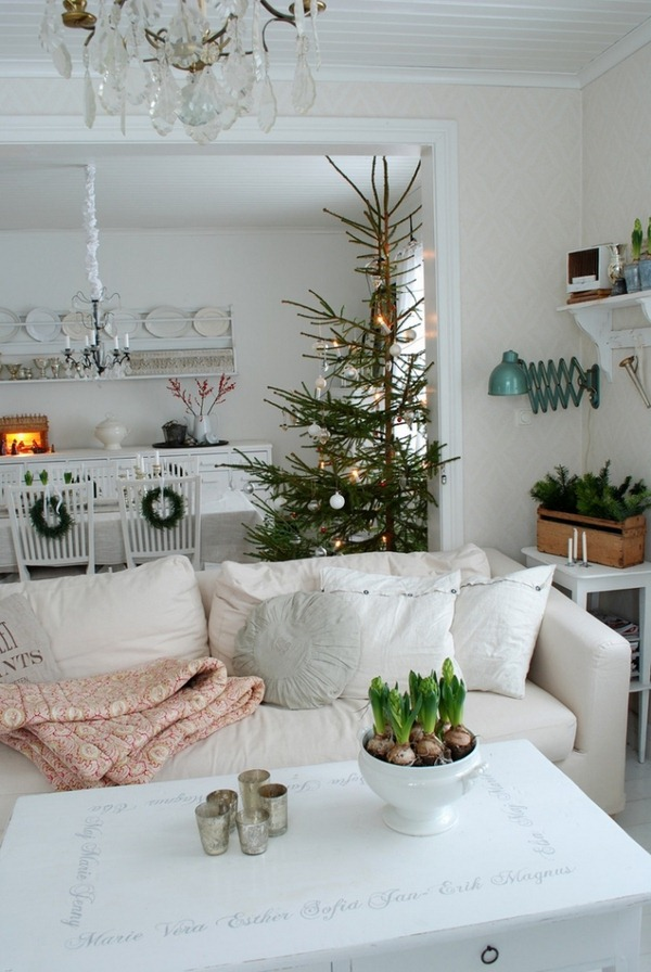Decorating Ideas For Rentals: 30 Stunning Scandinavian Christmas Decorations Ideas