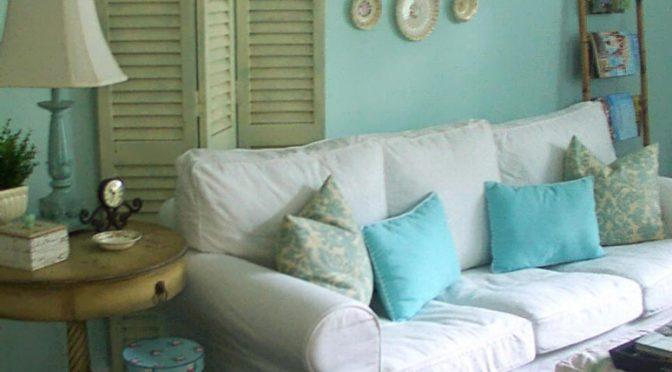 25 Dream Shabby Chic Living Room Design Ideas