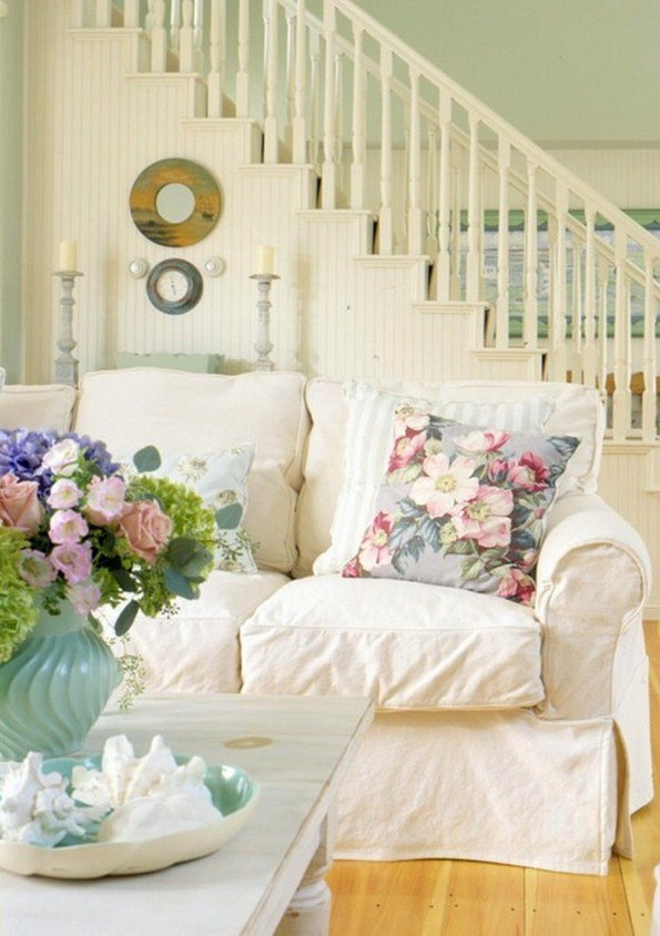 25 Dream Shabby Chic Living Room Design Ideas - Decoration ...