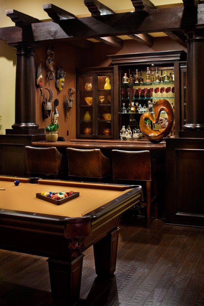 25 Sports Home Bar Design Ideas