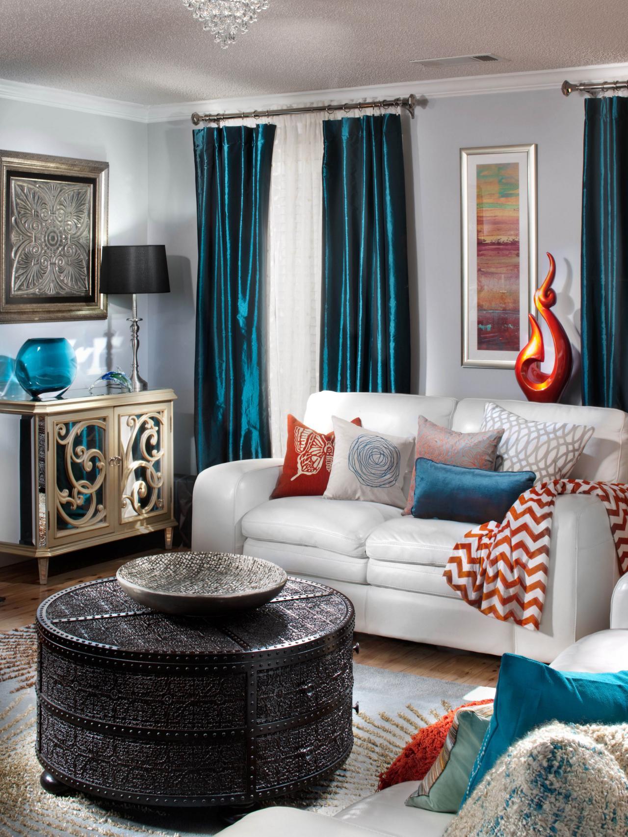 25 Teal Living Room Design Ideas - Decoration Love