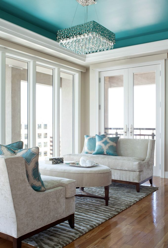 turquoise-ceiling