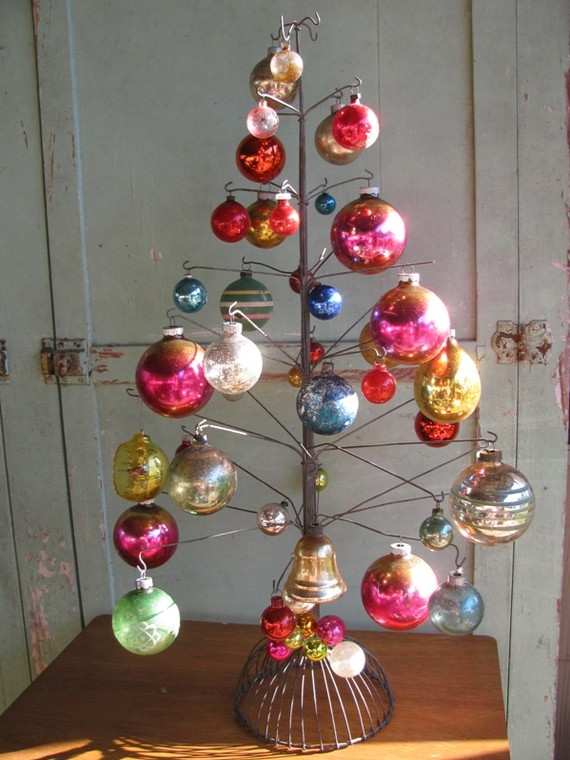 Vintage Christmas Tree Ornaments Ideas
