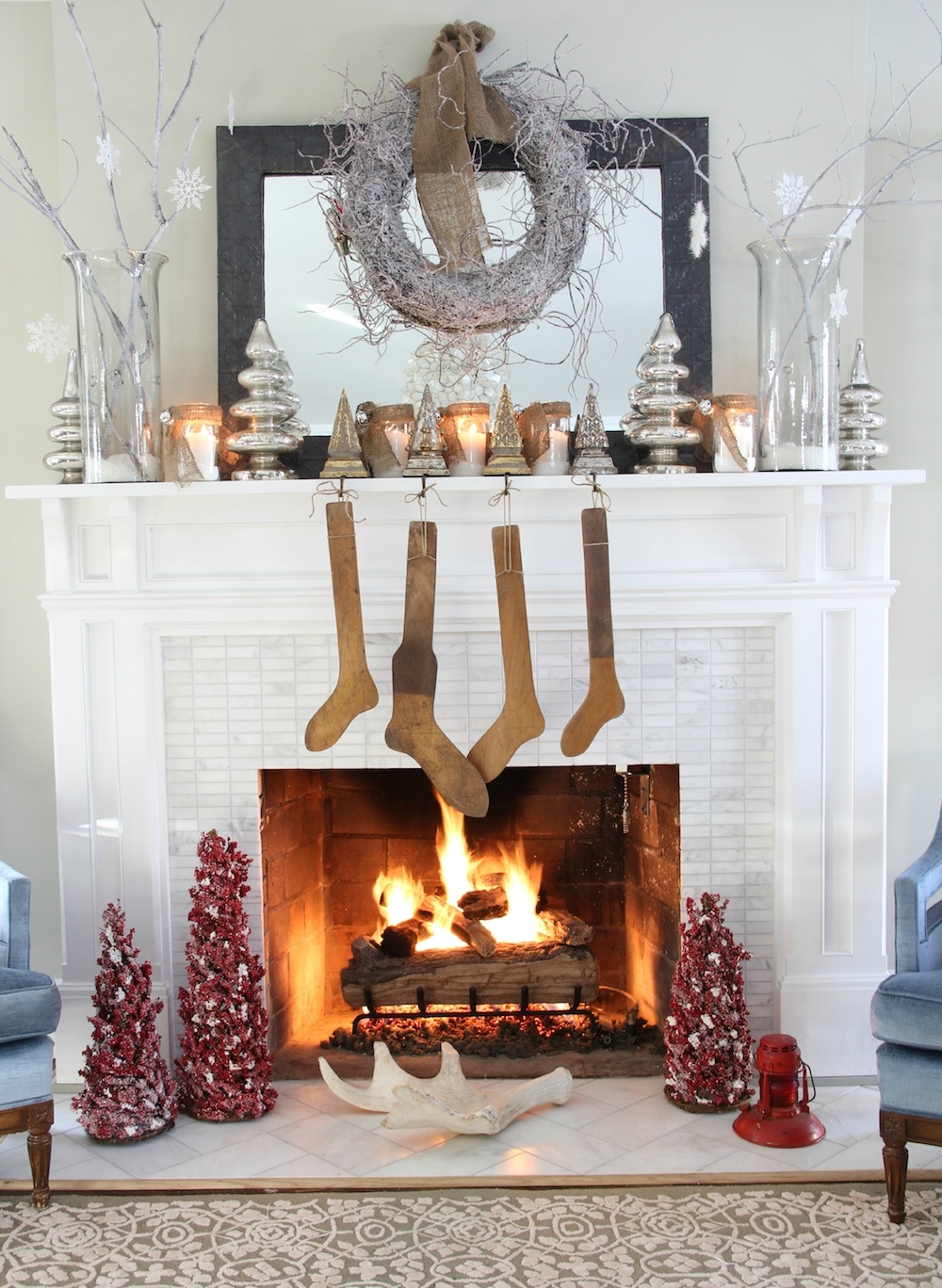 30 Beautiful Vintage Christmas Decorations Ideas ...