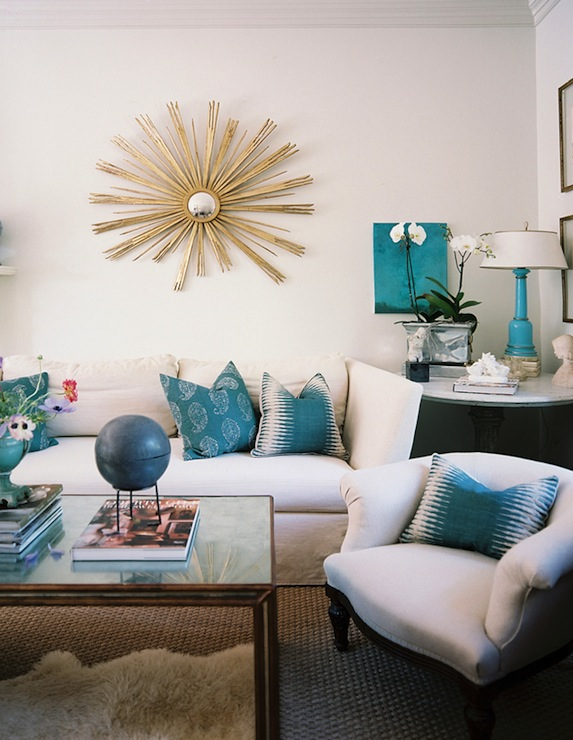 white-gold-and-turquoise-living-room
