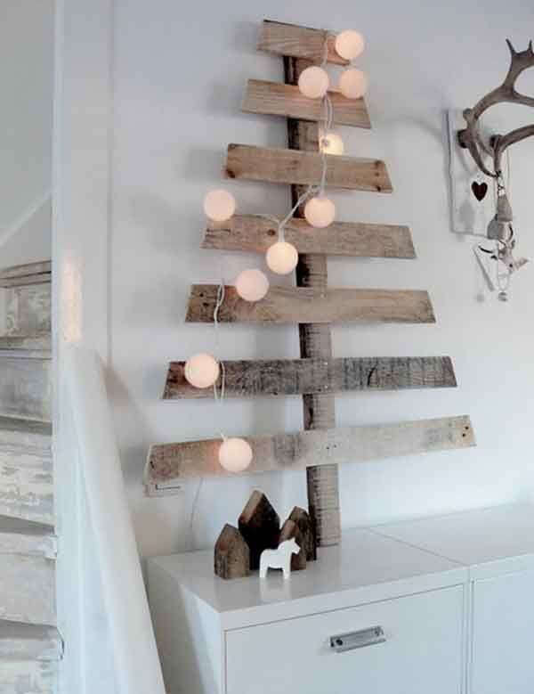 Wood Pallet Christmas Tree 2016
