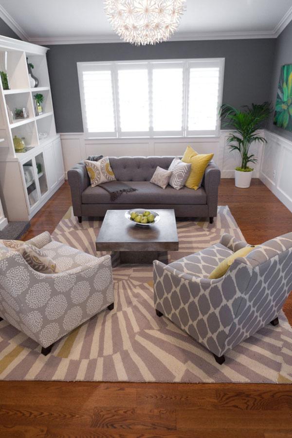 yellow-and-gray-living-room-decor